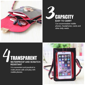 Cell Phone Purse With Touch Screen Easy Access - Change Bag - Women's Mobile Phone Bag