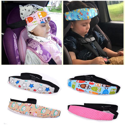 Baby Car seat Head Support Pillow - Baby's First Class