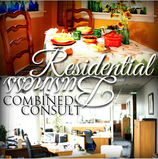 Combined Off-Site Residential & Small Business Feng Shui Reports