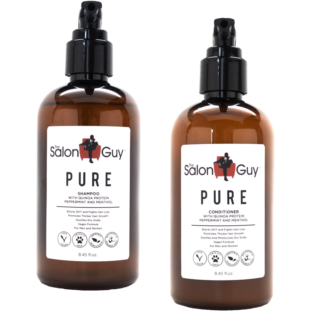 PURE Quinoa Protein Shampoo & Conditioner DUO