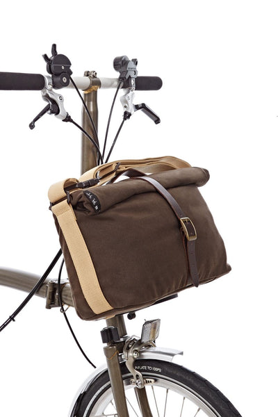 Brompton Roll Top Bag + Frame
