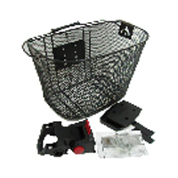 Front Mesh Basket With Q/r With Handle And Angle Adj W345 X D255 X H250