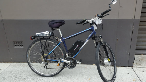 Dillenger Kit Blue Kona Electric Bicycle - Trade In
