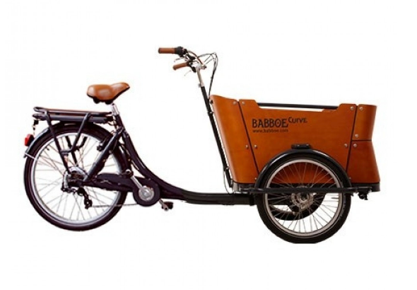 Babboe Curve Cargo Bike - High Torque Bafang Mid-Drive Conversion