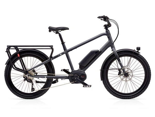 Benno Boost E - Cargo Electric Bike - Step Over