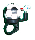 Bicycle Bell - Soccer Ball and Boot