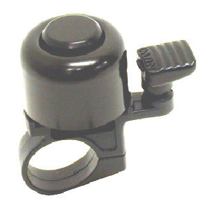 Bike Lane Small Alloy Flick Bell Black