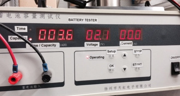 Electric Bicycle Battery Load Test