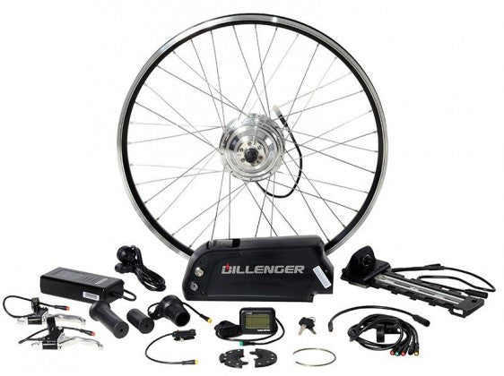Dillenger Electric Bicycle Conversion Kit – 250W – Downtube Li-Ion Battery