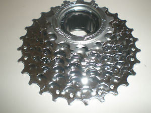 Sunrace 7 speed screw on freewheel 13-28T