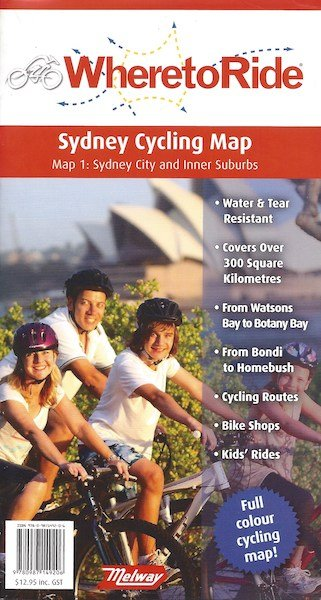 Where To Ride Sydney Map