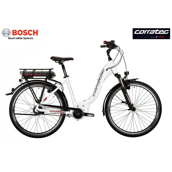 Corratec E-Power Active Plus 26 Classic Nexus 8 - Bosch Stepthrough Electric Bicycle - Small Size