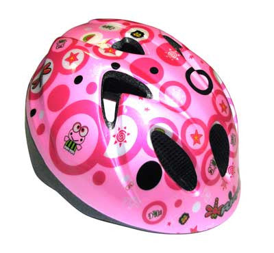 RJAYS MINI HELMET PINK DRAGONFLY 46cm-50cm