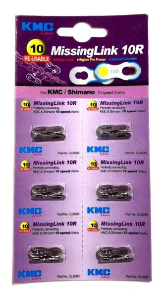 10 Re-Usable MissingLink 10R KMC