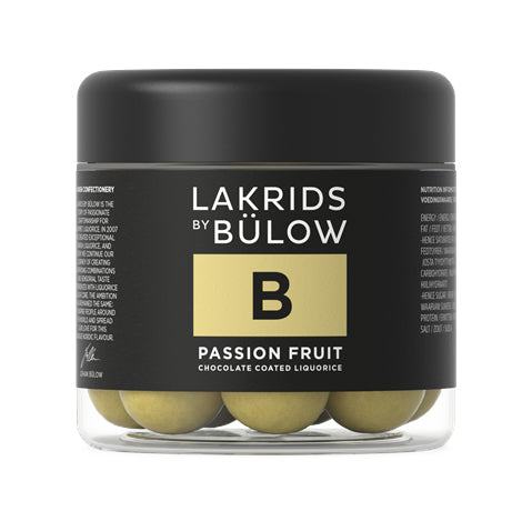B Passionsfrugt Lakrids 150g
