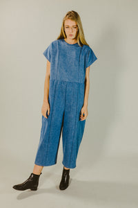 decoy jumpsuit, denim - the general public