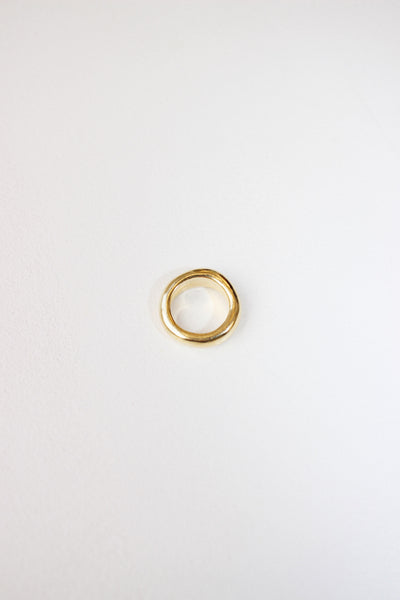Eau Ring in 14k gold plated