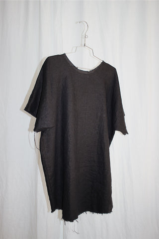 raw crop dress