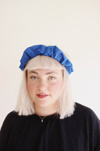 crown scrunchy / electric blue - the general public