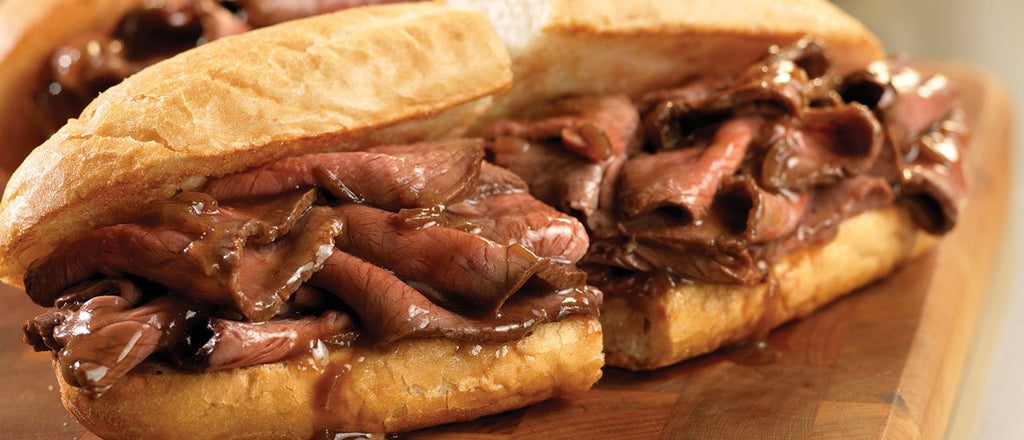 Hot Roast Beef Sandwiches