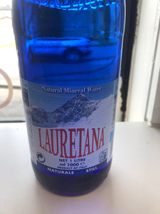 Lauretana natural water
