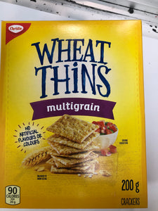 Wheat thins multigrain