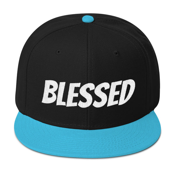 Blessed Embroidered Snapback