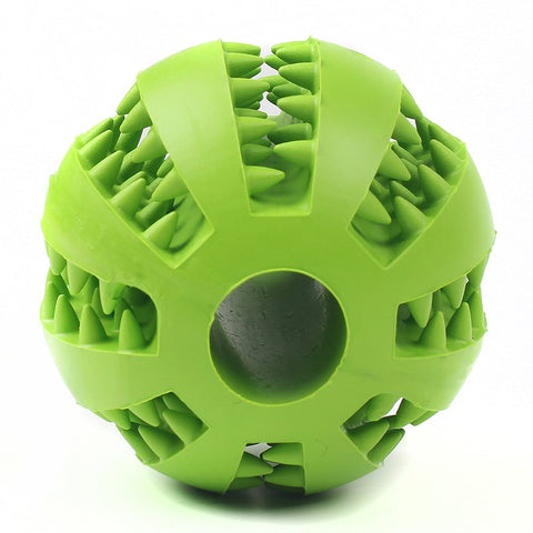Dual Purpose Toy and Teeth Cleaning Ball