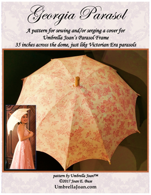 Georgia Parasol, 35-Inch Pattern and Frame