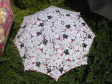 Fashion accessory umbrella, made-to-order, complex pattern