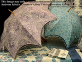 Classic 48-in Umbrella Pattern, for Andover Fabrics' Downton Abbey Collection
