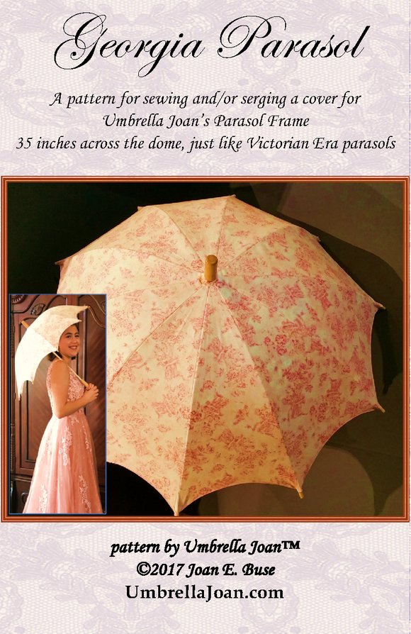 Georgia Parasol Pattern, for our 35-inch frame