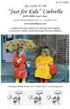Just For Kids, Umbrella Frames, Rainbow party pack of all 7 colors