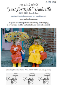 Just for Kids,  Umbrella Pattern