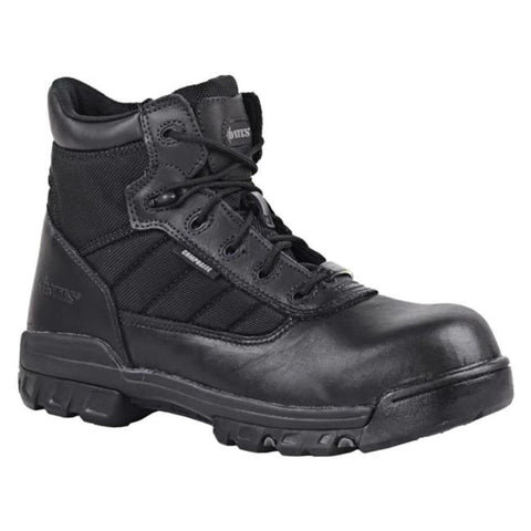 "Bates 5"" E02264 Tactical Sport Safety Toe Side Zip Boot - Black"