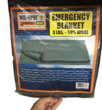 Blanket - Mil- Spec Emergency 3lb - Grey