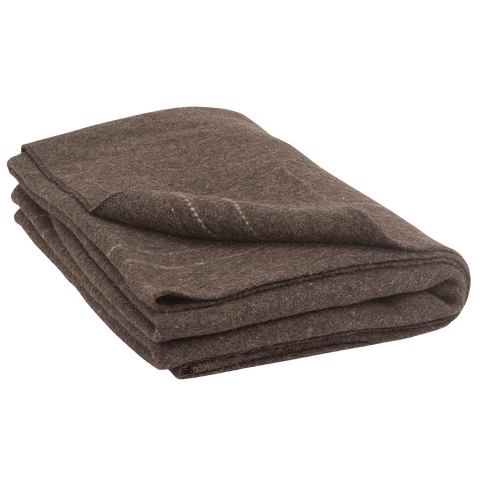 "LIMITED Major Blanket 100% Recycled Wool - 60"" X 88"" (MAJOR-02-9000)"