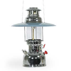 Major Mil-Spec Nickel Plated Steel Kerosene Hurricane Lantern (MAJOR-MSAG-05-6452) - Hahn's World of Surplus & Survival