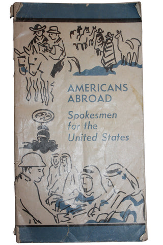 "Rare 1959 ""Americans Abroad, Spokesmen for the United States - Booklet (1001MOM-C)"