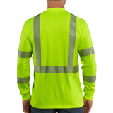 Carhartt T-Shirt - Force High-Visibility Long-Sleeve Class 3 - Lime