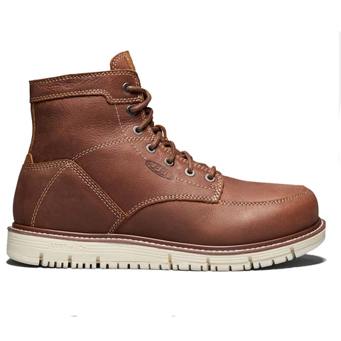 "KEEN Boots - Men's San Jose 6"" (Soft Toe) Gingerbread Brown 1020146"