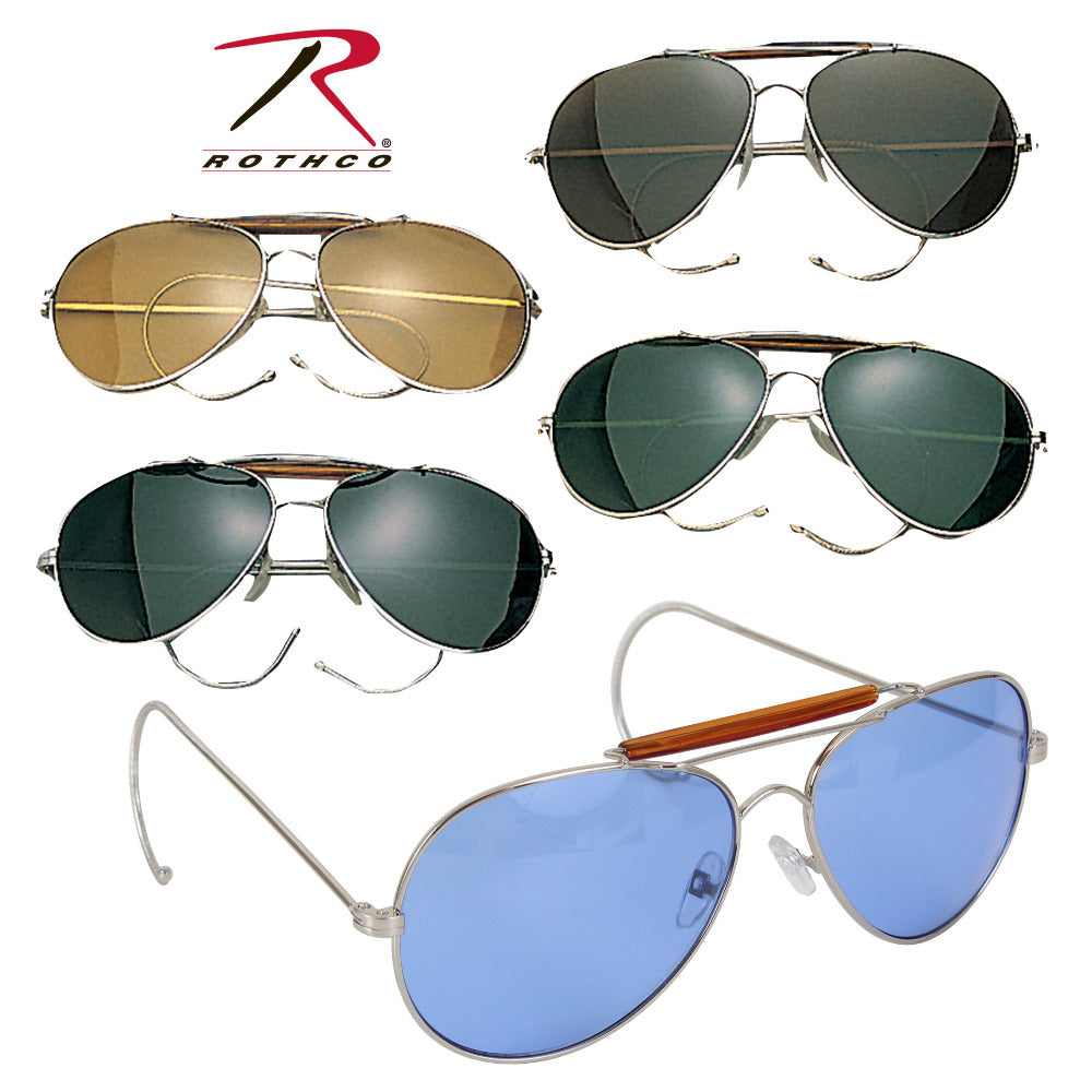 60bd3f8729c Rothco Aviator Air Force Style Sunglasses (R-10200) – Hahn s World of  Surplus   Survival