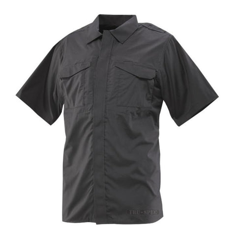 Tru-Spec 24-7 Series Ultralight Uniform Short Sleeve Shirt - Black (TS-1045) - Hahn's World of Surplus & Survival