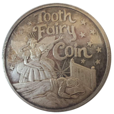 Tooth Fairy Commemorative Coin - Engraved Heather