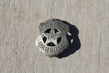 SALE Antique Deputy US Marshall Badge (105LOR-BADGE2)