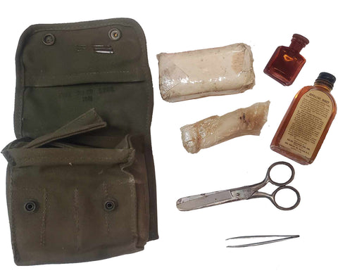 WWII 1945 Medical Field Kit M-2
