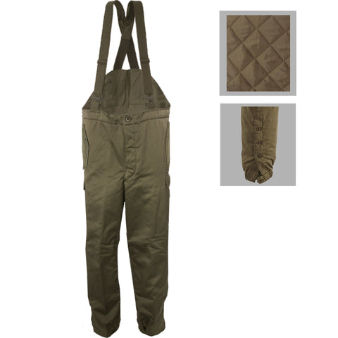 Austrian Military Pants w/Suspenders and Quilted Lining