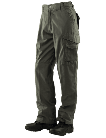 Tru-Spec Pants - 24-7 Series Tactical Poly/Cotton Rip-stop - OD