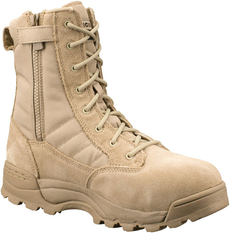 "Original S.W.A.T. Classic 9"" SZ Safety Boot Composite Toe - Tan (119402) - Hahn's World of Surplus & Survival - 1"