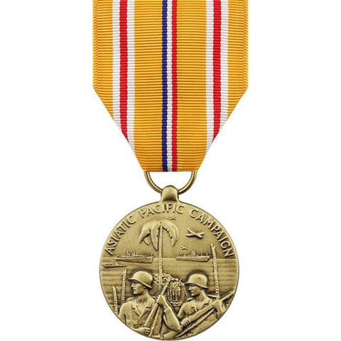 Vanguard Full Size Medal: Asiatic Pacific Campaign (VG-6609360) - Hahn's World of Surplus & Survival